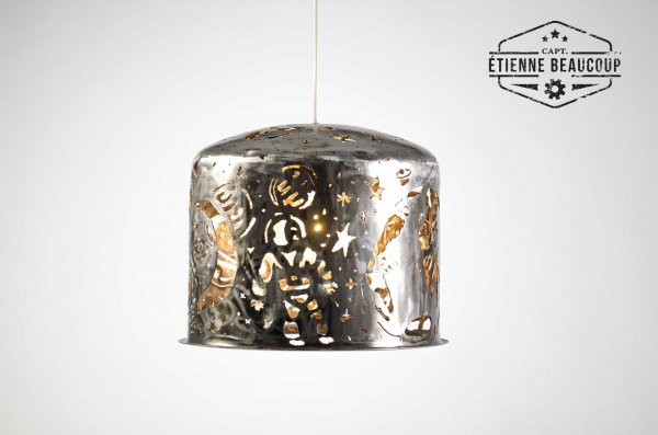 #L029 SPACE PENDANT VESSEL