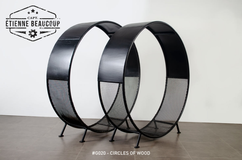 #G020 - CIRCLES OF WOOD